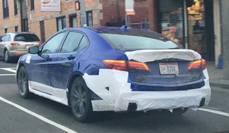 2018 acura tlx spy shots. exellent spy spied on the street 2018 acura tlx mmc  page 4 acurazine  enthusiast community intended acura tlx spy shots r