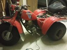 1983 Honda 200E Rebuild