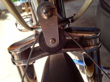 Biplane fork