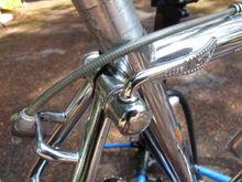 QR saddle post lever
