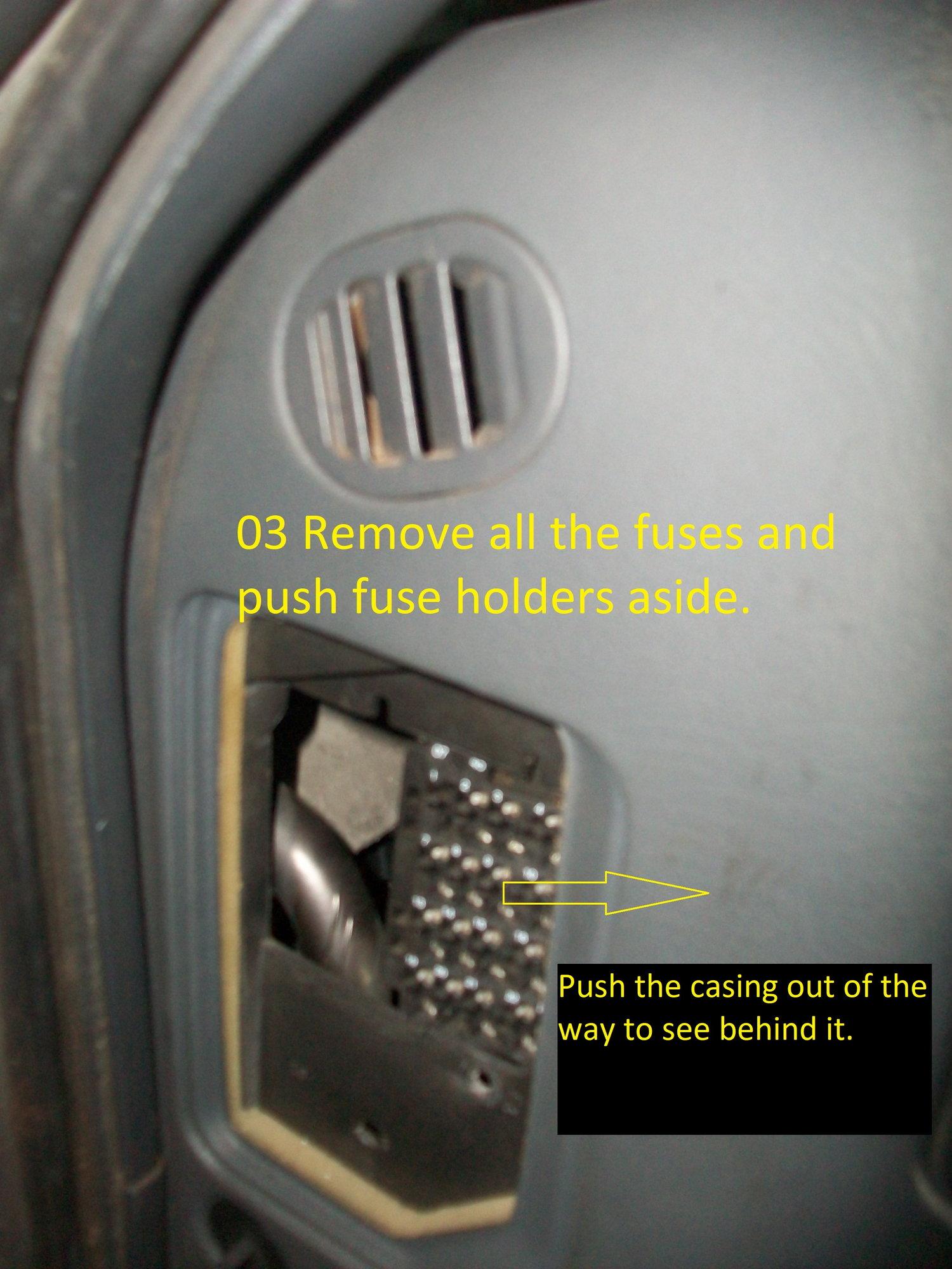 Body relay block location, removal & schematic - Blazer