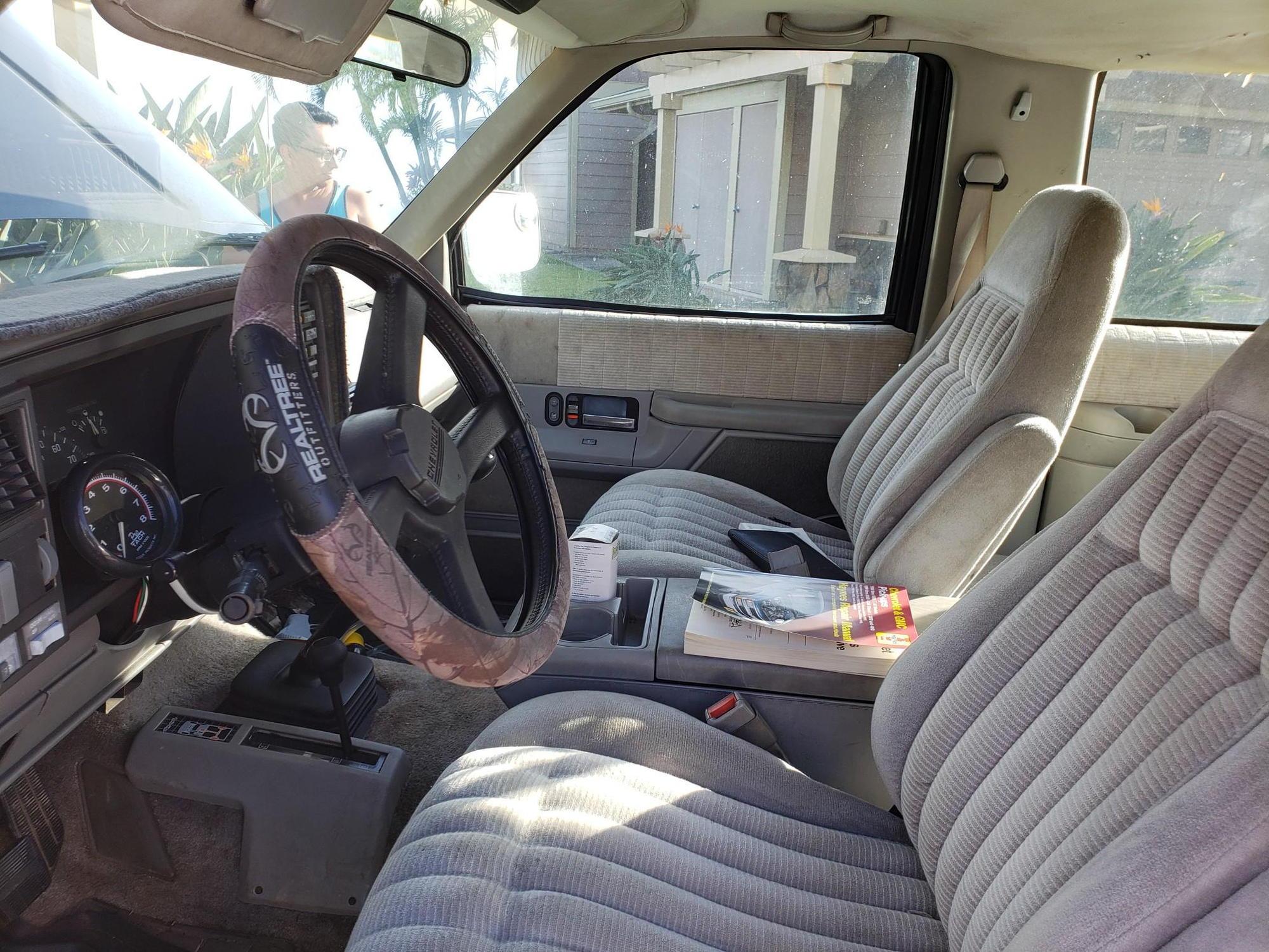 1992 chevy blazer 2dr 4x4 standard 5 7L - Blazer Forum - Chevy