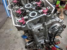 Hurricane engine rebuild complete. Dec 2017