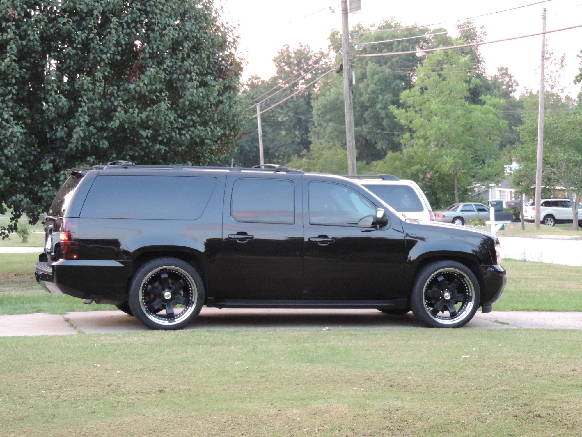 Blacked out 2008 Suburban LTZ - Chevrolet Forum - Chevy ...