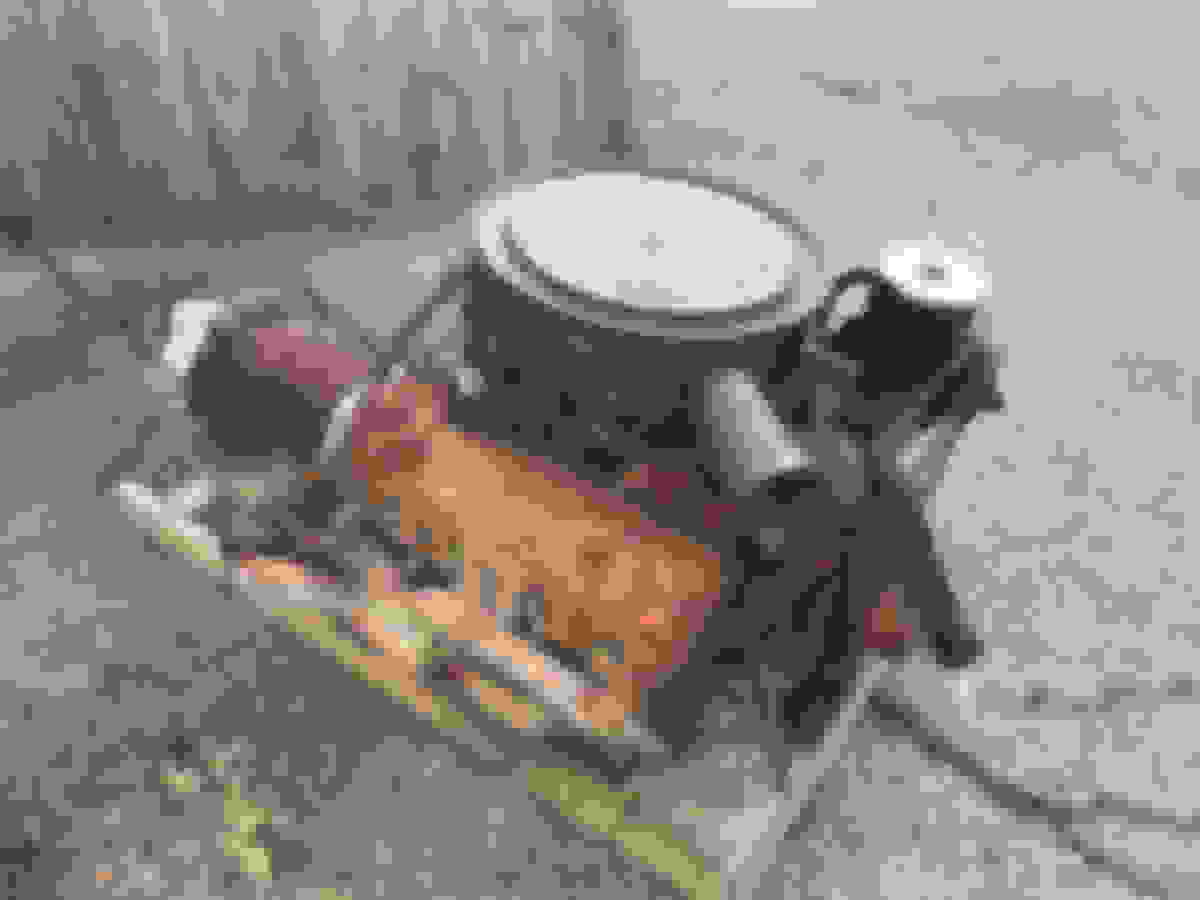 HOT RAT ROD TRI-POWER CARB LINKAGE-6X2-BACK BAR CL-6-97BB STROMBERG 97