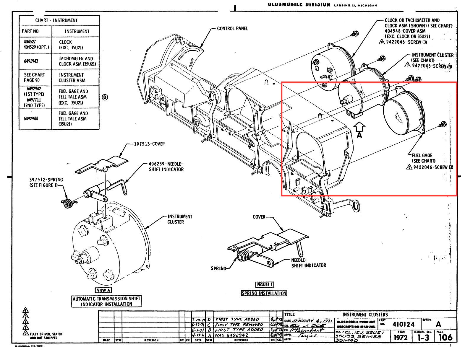 1971 oldsmobile cutl wiring diagram