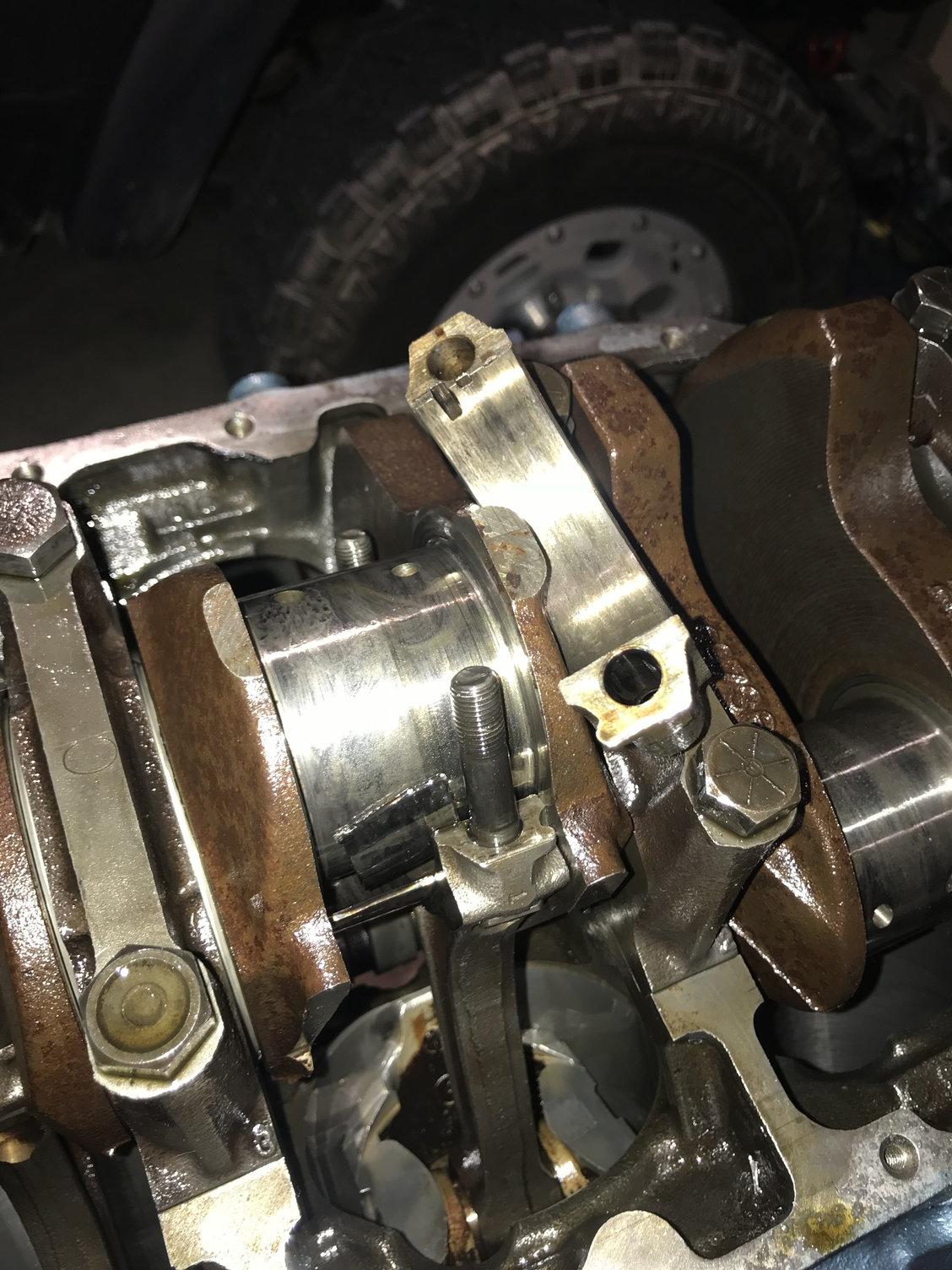Boooo  spun rod bearing - ClassicOldsmobile com