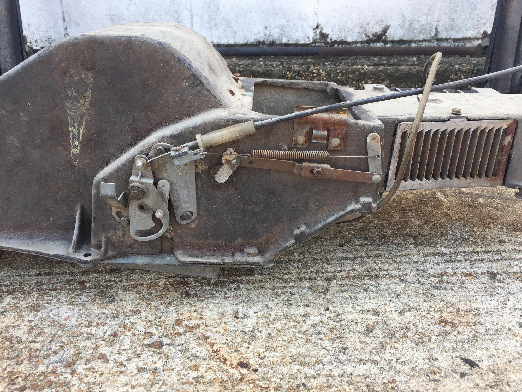 1969 Cutlass A  C Under Hood Box
