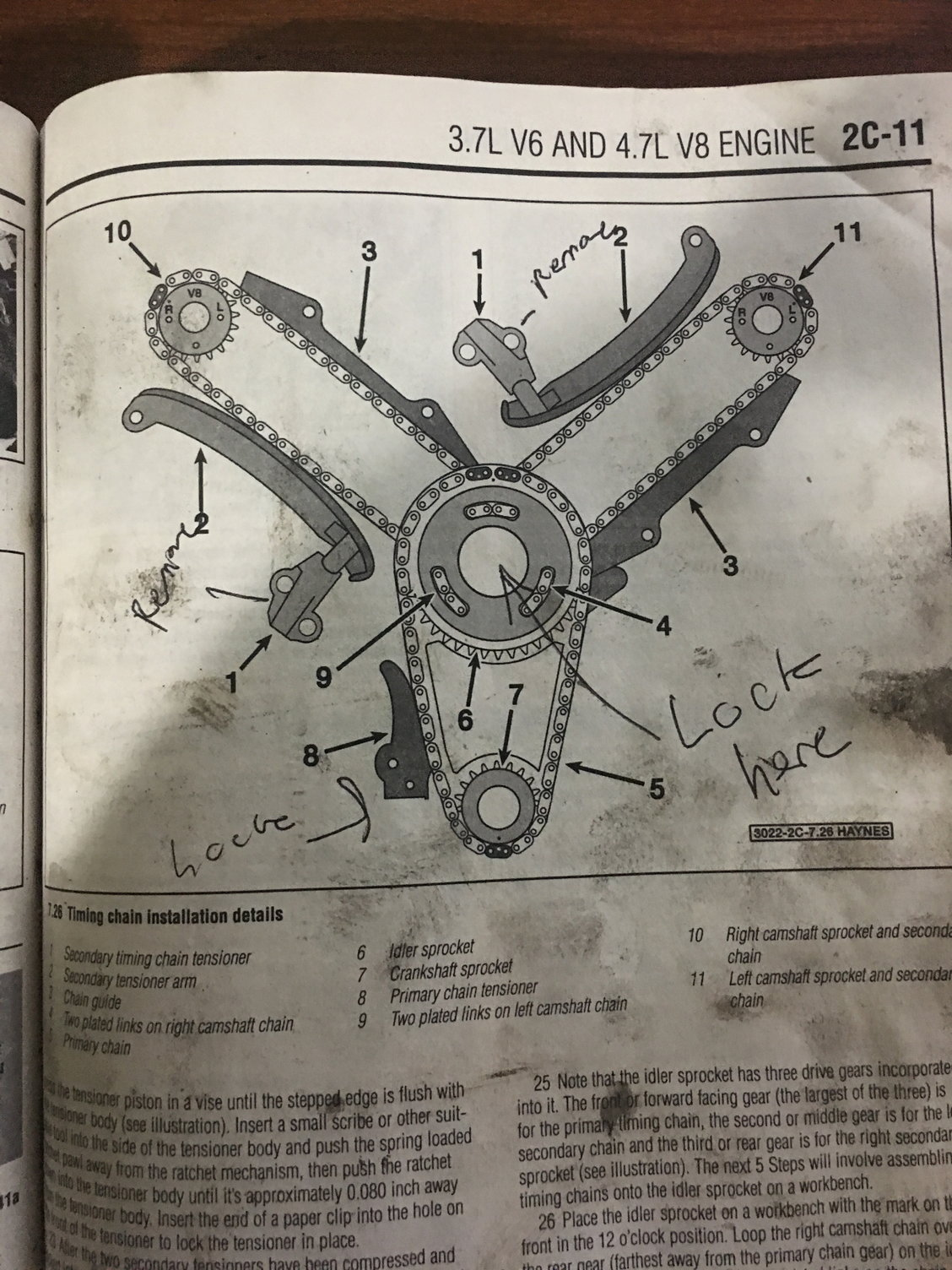 2001 Dodge Dakota 4 7l Head Gasket And Timing Chain Job  Pictures Included