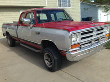 1990 Dodge Ram w150 extended cab long box