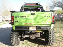 Dodge T-Rex back side