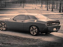 challenger with srt charger wheels 2012