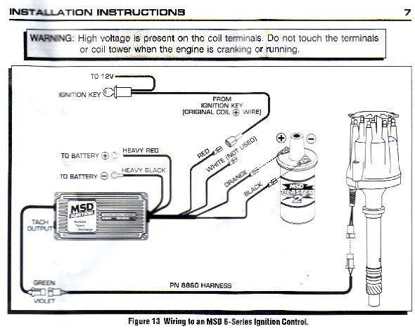 msd wiring diagrams mopar efcaviation com MSD 6AL to HEI Distributor Wiring Diagram MSD 6AL Wiring Diagram for Tach