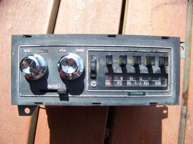 Pre 1984 D150 Radio Wiring Diagram