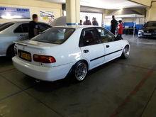 Honda Ballade eg South Africa