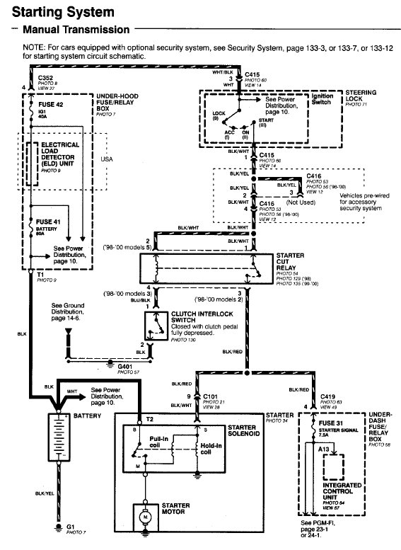 c101 and c136 connector diagrams for patchy honda tech. Black Bedroom Furniture Sets. Home Design Ideas