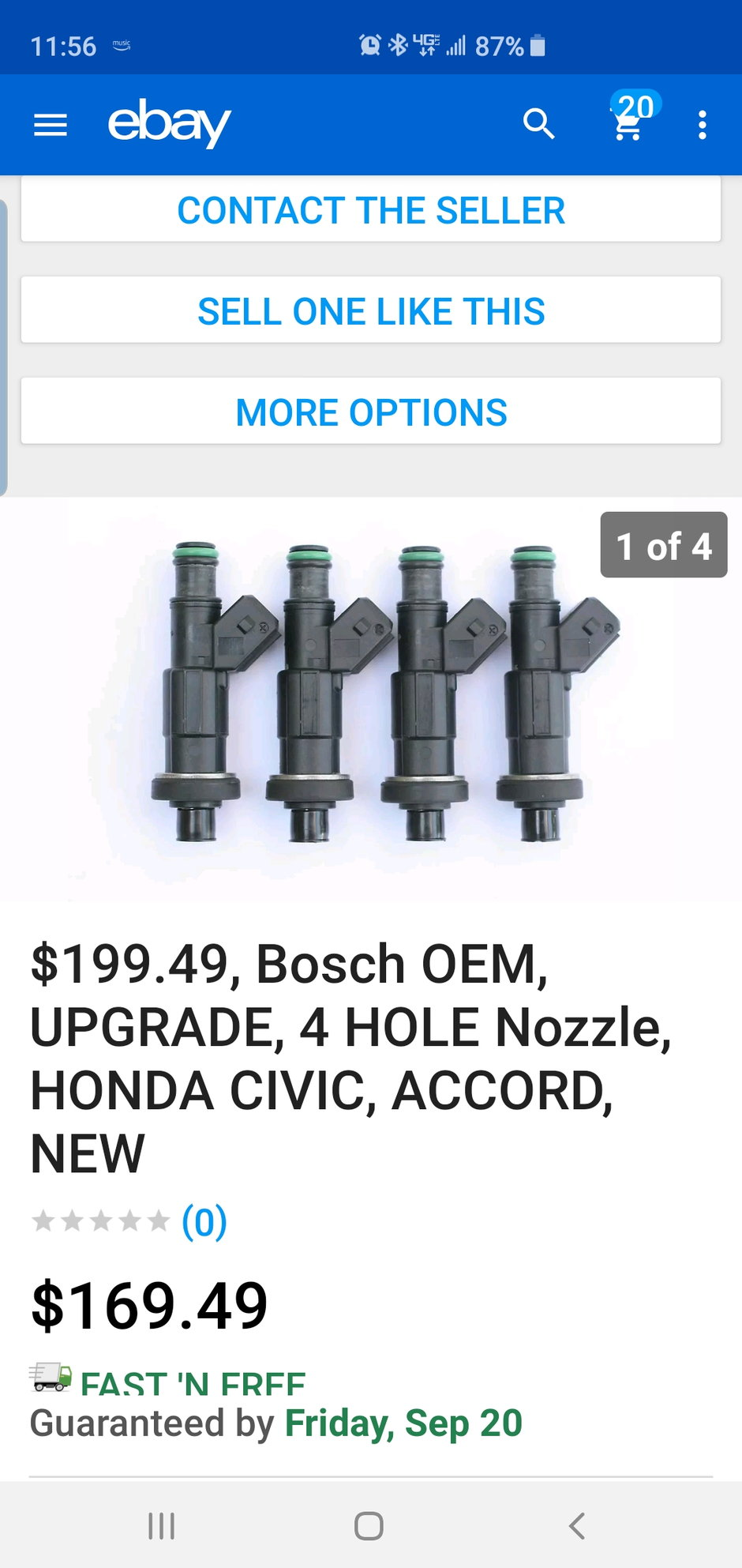 Modern Replacement Fuel Injectors For B Series
