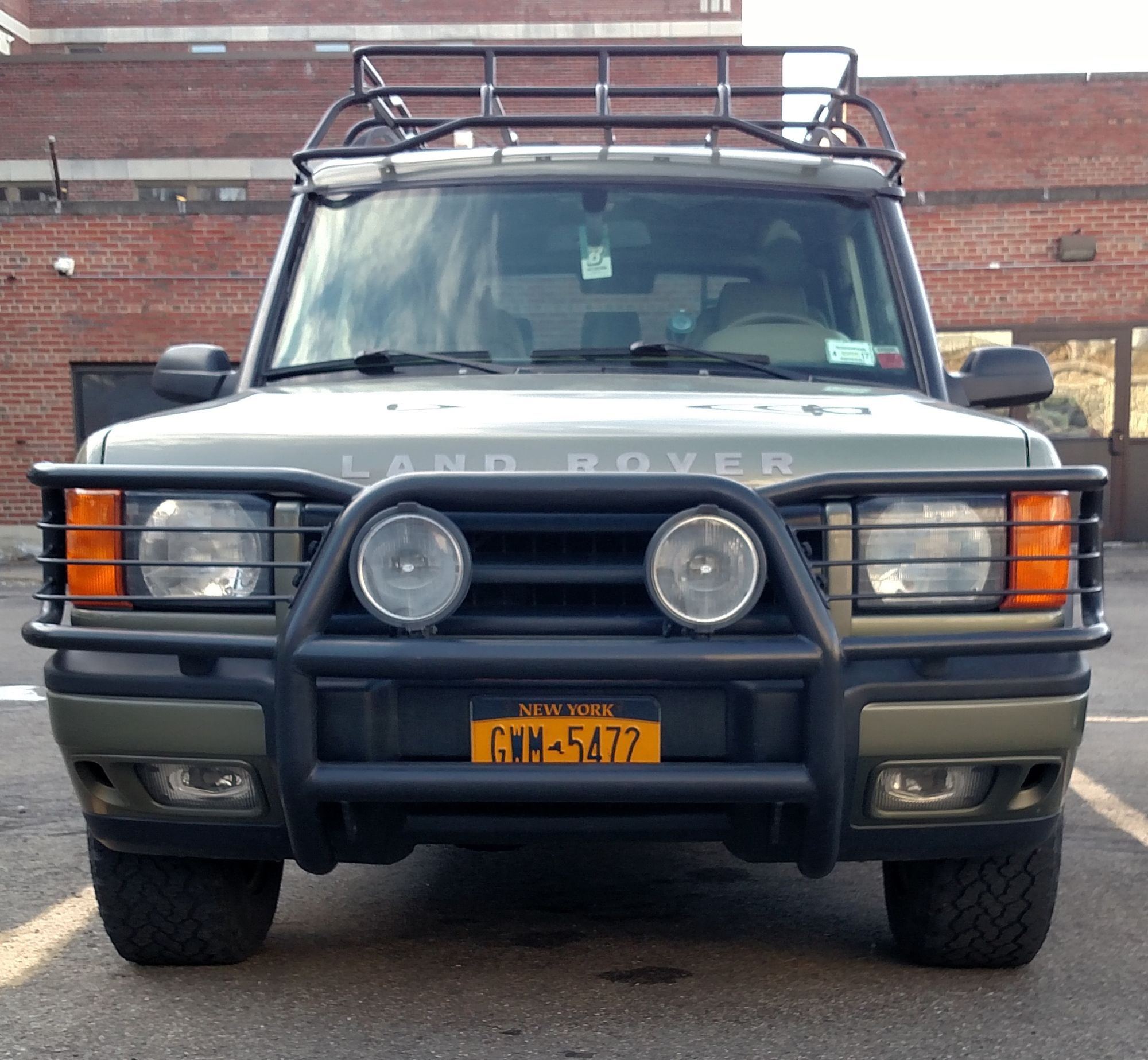 2001 Discovery 2 Front Bumper For Sale