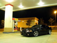 Midnight At The Gas Station