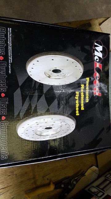 McLeod + 400 Steel Flywheel