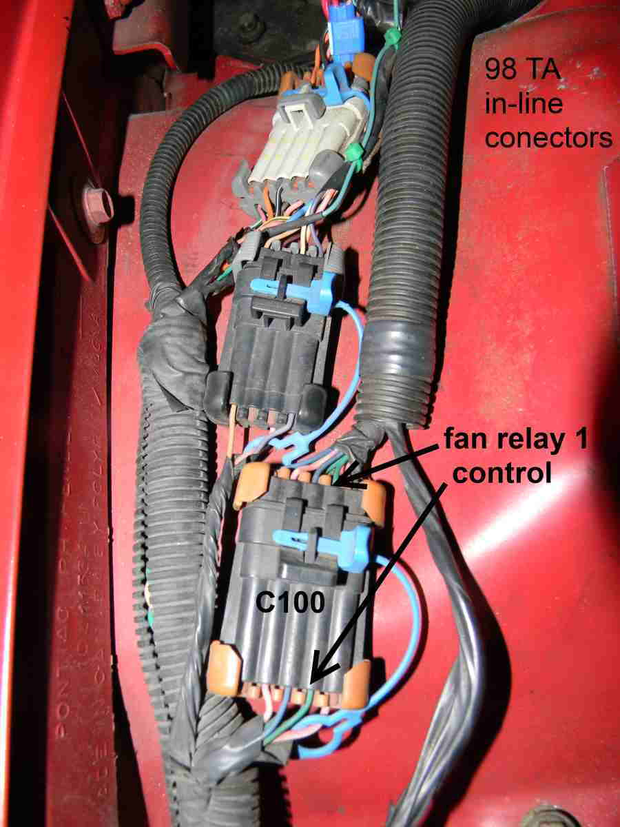 P0480 Code Cooling Fan Relay 1 Control Circuit Ls1tech Camaro Wiring A With He Told Me To You Can Ground It Using An Ordinary Pin And Jumper Wire Like The One Shown In Photo Be Just Piece Of Bare