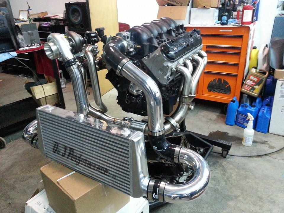 On3 Performance Ls Swap Fox Body Turbo Kit