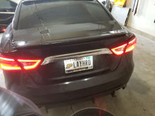 Right tail light