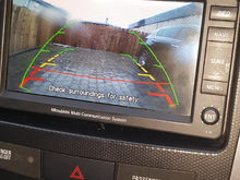 I have just finished installing the rear camera and the wire connection is very easy and there are white, pink, orange, black and yellow wires on the screen. I connected the orange wire with the camera wire and the yellow wire with the screen structure and it was displayed