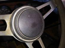 Truck Tuff wheel horn button
