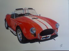 Another Drawing...this one of a Shelby Kit car.