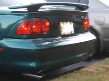"2.5"" Dual Exhaust (Divorced and stock mufflers)"