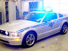 South Carolina State Trooper 2005 Ford Mustang
