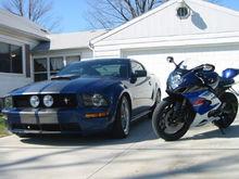 My car and my Bike