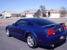 rear 3/4 view