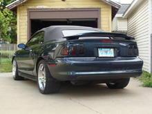 Rear 34 Low Wheels