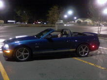 Top Down in Wal-Mart Parking Lot On Christmas