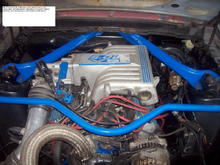 fuel injection done w gt-40s FMS e-303 explorer intake and TBi. . 03 mustang alt.  CAi. elec. fan  . ..relocated BATT.