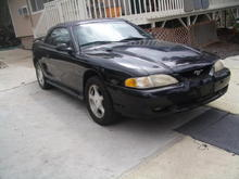 My '98 Mustang GT Convertable