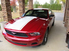 zulu45's 2011 Ford Mustang V6 Premium. Picture 2.