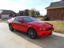 2011 MCA Mustang