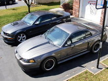 My and my brothers car...