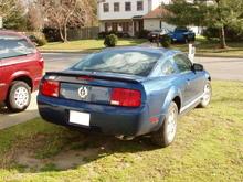Mustang (Rear)