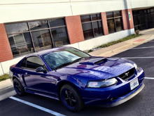 2003 SON1C Sonic Blue Mustang GT 4.6L Ford Mustang