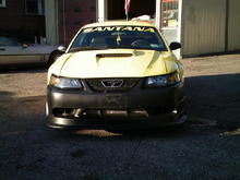 2001 MUSTANG GT WITH COBRA FRONT.WILL BE GIVING IT A CUSTOM PAINT JOB THIS WINTER,AND SOME OTHER GOODIES.
