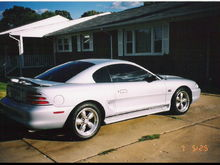 95 GT I love this color. Don't see to many of them