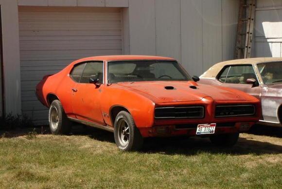 1969 GTO 400ci 4spd