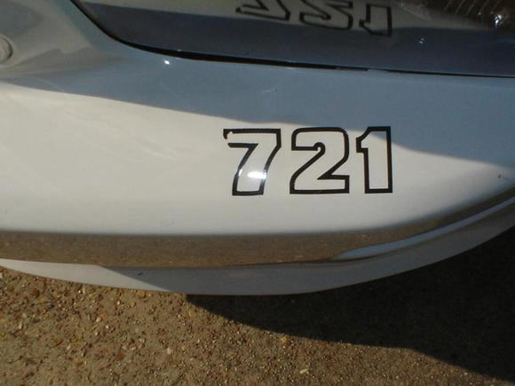 Bumper Number