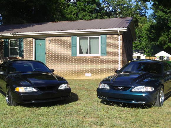 My 97 and my buddys 96
