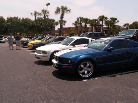 Mustang Weeek 09 cruise in
