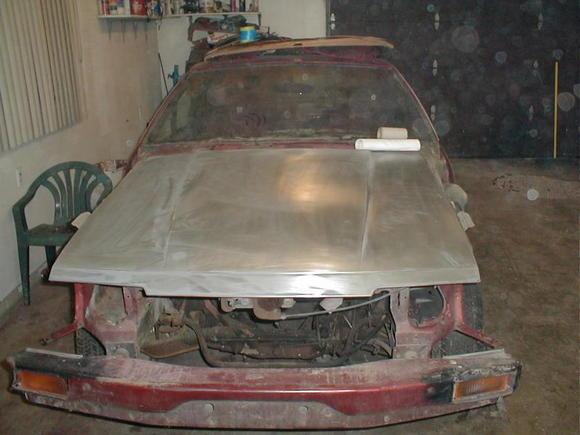 hood stripped